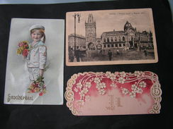 CSR 3 Alte Karten Prani , Mesit Prag Ab 1912 - Tchéquie