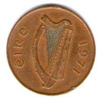 Irlanda Eire 2p 1971 - Irlanda