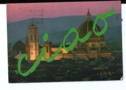 S247 Cartolina Della Toscana - Firenze , Ciao ( Notturno Nuit Nocturne Night ) VIAG. 1985 - Firenze (Florence)