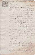 L4A009 France Bail Manuscrit 4 Vendémiaire An VII Leers (59) 7 P - Manuscrits
