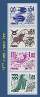 PRÉOBLITÉRÉS N° 146 À 149 - LES SIGNES DU ZODIAQUE (1) 1977 - N** SANS CHARNIÈRE - - 1964-1988
