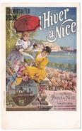 """CPA Chemins De Fer PLM """"L'Hiver à Nice"""" - Chemins De Fer"""