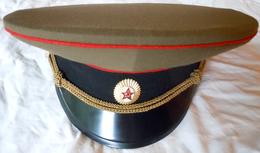 Casquette Russe Soviétique Infanterie Armée Rouge Taille 56 - Headpieces, Headdresses