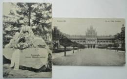 Czernowitz. Kaiserin Elisabeth Denkmal; Gr. Or.Erzb. Residenz - Ukraine