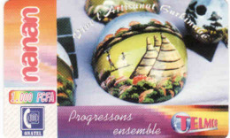 BURKINA FASO, RECHARGE Telmob Card 1000 FCFA, Onatel, Artisanates - Burkina Faso