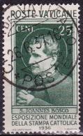 VATICAN CITY 1936 Worldexhabition From The Catholic Press Mi. 53 - Vaticaanstad