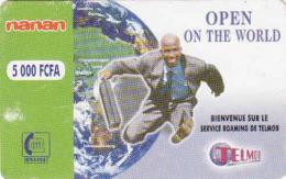 BURKINA FASO, RECHARGE Telmob Card 5000 FCFA, Onatel, - Burkina Faso