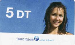Tunisie Telecom Recharge Card 5 DT - Tunisie