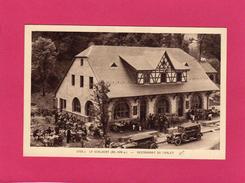 88 VOSGES, LA SCHLUCHT (1139 M), Restaurant Du Chalet, Animée, Voitures, (Kiesgen-Freudenreich) - France