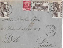 Tunisie - Suisse → Brief Von Tunesien Nach Basel Anno 1946 - Tunisie (1956-...)