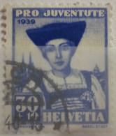 Suisse - YT 347 Obl - 1939 - Pour La Jeunesse - Pro Juventute - Oblitérés