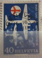 Suisse - YT 575 Obl - 1956 - Swissair - Suisse