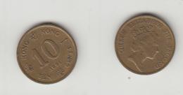 10 CENTS 1991 - Hong Kong