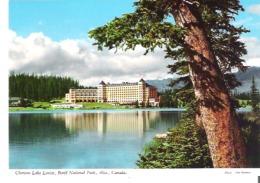 Chateau Lake Louise, Banff National Park, Alberta  2RM2 - Lake Louise