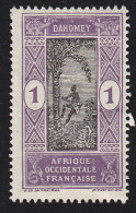 DAHOMEY - Scott #42 Man Climbing Oil Palm / Mint NG Stamp - Unused Stamps