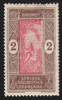 DAHOMEY - Scott #43 Man Climbing Oil Palm (*) / Mint NG Stamp - Unused Stamps