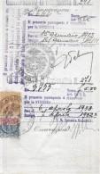 CERTIFICATO DI NAZIONALITÀ → Rinnovazioni No.644 Anno Apr.1932 - Italien