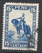 """PERU    1934 Postage Stamps      USED  """"Francisco Pizzaro"""" - Painting BY HERNANDEZ - Peru"""
