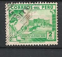 PERU    1938 Local Motives  PROTECCION A LA INFANCIA    USED - Peru