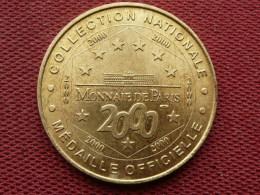 MDP MONMARTRE Basilique Du Sacré Coeur Année 2000 - Monnaie De Paris