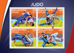 MALDIVES 2016 - Judo. Official Issue