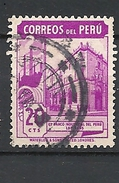 PERU    1938 Local Motives   BANCO INDUSTRIAL DE PERU USED - Peru
