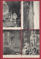 RARE SERIE DE 58 CPA SUR LE SITE D´ ANGKOR - N° 1 à 30, 32 à 38, 40 à 60 - SCAN DU LOT Beau Plan - Cambodge