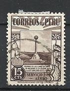 PERU     1938 Airmail - Local Motives  USED - Peru