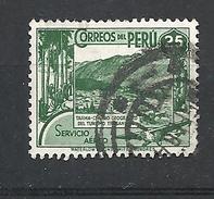 PERU     1938 Airmail - Local Motives  USED TARMA - Peru