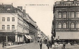8361. CPA 59 ROUBAIX. GRANDE RUE. AU GRAND BON MARCHE. - Roubaix