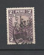 PERU   1936 PRO UNEMPLOYED  YVERT 334   USED  OVERPRINT LEY 8310 - Peru