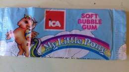 MY LITTLE PONY BUBBLE GUM - ICA - 1987 - No Goldrake Candy Mazinga Heidi Winx - Altre Collezioni
