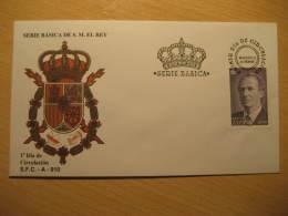 1995 Edifil 3403 (Cat. 2002: 12,50 Eur) Juan Carlos I Familia Real Royal Family Royalty SPD FDC Spain - FDC