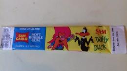 WARNER BROS DUFFY DUCK - BUBBLE GUM - SAN CARLO -  No Disney Goldrake Candy Mazinga Heidi Winx - Non Classificati