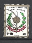PERU  11971 The 150th Anniversary Of Peruvian Army USED - Peru