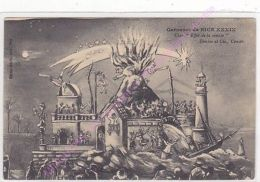 CPA 06200 NICE Illustration Carnaval Char Effet De La Comète Edit GILETTA - Non Classés