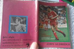 John Aldridge Small Agenda Vintage Soccer Football - Deportes
