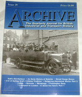 Archive Issue 29 The Quarterly Journal For British Industrial And Transport History - Transportation