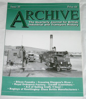 Archive Issue 33 The Quarterly Journal For British Industrial And Transport History - Transports
