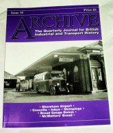 Archive Issue 35 The Quarterly Journal For British Industrial And Transport History - Transports