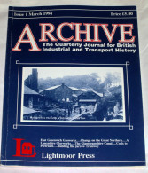 Archive Issue 1 The Quarterly Journal For British Industrial And Transport History - Transportation