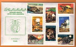 Ph-Libye-Libya- F.D.C.  1979 Animals - Libya
