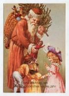 CHRISTMAS - AK283811 Frohe Weihnachten Und Ein Glückliches Neues Jahr - Santa Claus