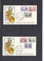 Belgie - Belgique FDC 1013/18 - Beroemde Personen - Edouard Meert - 1957 - FDC