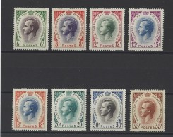 MONACO . YT  421/426A  Prince Rainier III  1955-57 - Unused Stamps