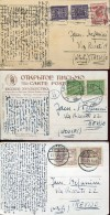 14060 Poland,  3 Cards Circuled  1928-1931 - 1919-1939 Republik
