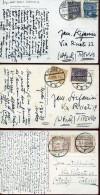 14061 Poland,  3 Cards Circuled  1928-1931 - 1919-1939 Republik