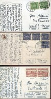 14066 Poland,  3 Cards Circuled  1928-1931 - 1919-1939 Republik