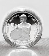 PP/Proof Silber/Silver Malediven/Maldives UN/UNO Decade For Women/Jahrzehnt Der Frauen, 1984, 20 Rufiyaa - Maldives