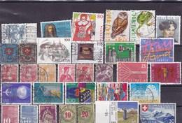 SUISSE: Y&T : Lot De 30 Timbres Oblitérés - Suiza